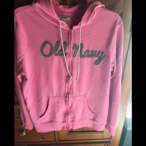💕Old navy zip up hoodie size large